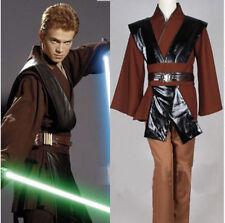 hOT! Star Wars Anakin Skywalker Cosplay Costume Men Halloween Clothes FFG.831