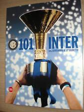 LIBRO BOOK 101 INTER DAL CENTENARIO AL 17° SCUDETTO NEW INTERNAZIONALE FC 112 P.