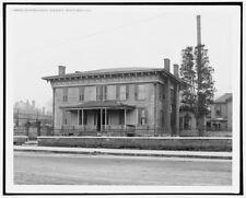 Photo of Jefferson Davis' residence Montgomery Ala 1906 Detriot Publishing co.