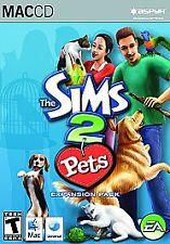 NEW!!! Sims 2: Pets, Expansion Set (Apple, 2006)