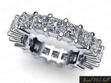 2.70ct Ct Diamante Talla Princesa Compartido Pinza Aniversario Eternidad