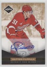 2011-12 Limited Gold Monikers Autographed 131 Valtteri Filppula Auto Hockey Card
