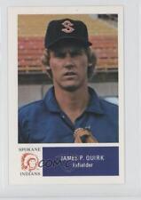 1978 Spokane Indians Team Issue #5 Jamie Quirk Kansas City Royals Baseball Card