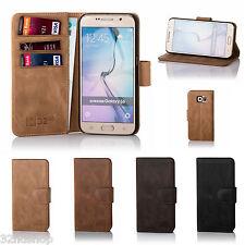 32nd Premium Funda De Piel Genuina para libros Samsung Galaxy Teléfono