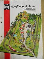 Catalogo Busch Modellbahn-Zubehor 1970-71 - DEU