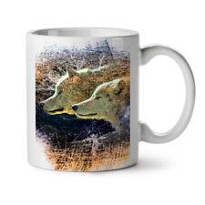 Wolf Beast Wild Animal NEW White Tea Coffee Mug 11 oz   Wellcoda