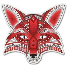 Fox Drawing Art Design Car Vinyl Sticker - SELECT SIZE