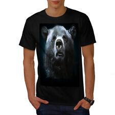 Wild Animal Oso Bestia Hombre wellcoda Camiseta Nuevo |