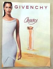 B448-Advertising Pubblicità-1999-GIVENCHY ORGANZA