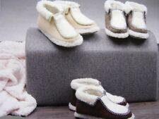 Mujer ZAPATILLA DE CASA Zapatos Forro Cálido Talla 37-42 NUEVO