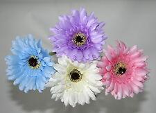 Artificial Flowers-Gerbera Flower Stem- Pink, Blue, White/Cream, Lilac -60cms H.