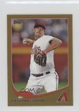 2013 Topps Mini Gold #101 Bryan Shaw Arizona Diamondbacks Baseball Card