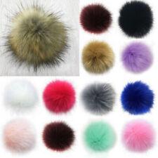 Chic 8CM DIY Cute Faux Rabbit Fur Pom Pom Ball Pompoms Knitting Hat Accessories
