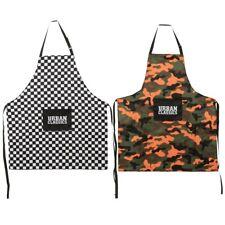 Urban Classics Barbecue Set Grill Handschuh Schürze Camouflage Checkerboard Karo
