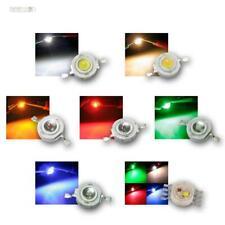 Highpower LED 1 Watt, versch. Farben, Power Emitter Chip, Hochleistungs LEDs 1W