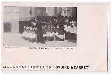 """CPA MACARONI LUCULLUS """"RIVOIRE & CARRET"""" MAITRISE D'ENFANTS - P. DARVANT"""
