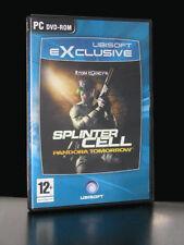 SPLINTER CELL PANDORA TOMORROW ED EXCLUSIVE GIOCO USATO PC VERSIONE ITA 23759