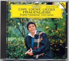 Loewe: Lieder; Frauenliebe - Fassbaender Garben CD DG W GERMANY