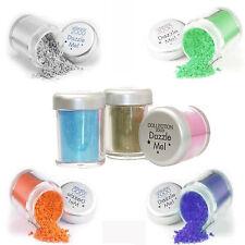Dazzle Loose Eyeshadow Dust Pot Green Blue Black Gold Silver Khaki or Pink
