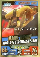 Slam Attax Rumble - Mark Henry World's Strongest Slam - Signature Move