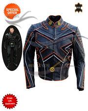 fashion leather jacket xmen style leather movie leather jacket can be customize
