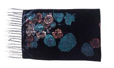 Plus Velvet Rose Flowers Women Scarves Shawl Daily Dress Spring Winter Pashmina