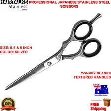 PRO HAIR CUTTING SCISSOR STAINLESS STEEL 5.5, 6 INCH BARBER SALON STYLING RAZOR