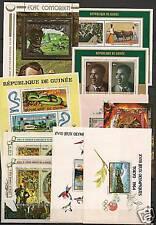 Guinée 10  BLOCS  MNH  VF