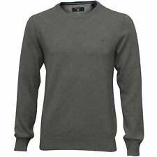 Gant Dot Texture Crew-Neck Men's Sweater, Grey Melange