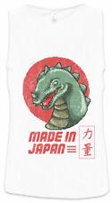Made In Japan Men Tank Top Geek Nerd Vintage Godzilla Fun Asia Arcade Pixel