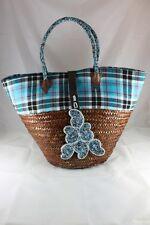 Shopping Bag Handbag Market Gorgeous African Palm Leaf  Free Post