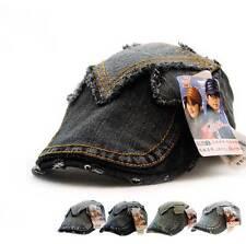Men Women Sport Outdoor Baseball Cap Golf Snapback Hip-hop Flat Hat Jeans Denim