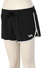 RVCA Featherweight Stretch Women's Boardshorts - Black - New