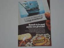advertising Pubblicità 1976 RAMEK KRAFT
