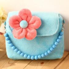 Cute Princess Flower Shoulder Bag Little Girls Handbags Package Messenger LA