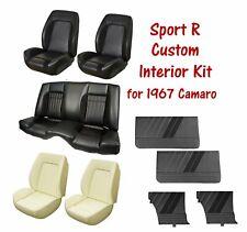 Custom Sport R Package for 1967 Camaro - Upholstery, Seat Foam and Door Panels