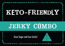 Keto Friendly Jerky Combo