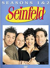 Seinfeld - Seasons 1 & 2 (DVD, 2004, 4-Disc Set) Jerry Seinfeild