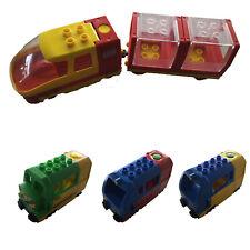 Lego Duplo E-LOK Bahn Eisenbahn Intelli Güterzug Elektrisch inkl.Anhänger