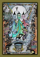 Ink collage original art commission by Sarah Jane Holt