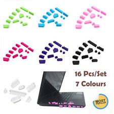 16PCS Anti-Dust Plug Charger Port Cover For Laptop USB Ports 7 Colors UK STOCK