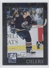 1997-98 Donruss Elite #90 Boyd Devereaux Edmonton Oilers Rookie Hockey Card