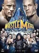 WWE: Wrestlemania XXIX (DVD, 2013, 3-Disc Set) JOHN CENA vs THE ROCK!