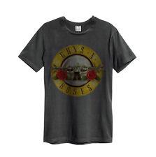 Amplified - Guns N Roses Drum Logo Herren T-Shirt (Grau) (S-XXL)