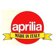 """APRILIA """" Made in Italy"""" Sticker"""