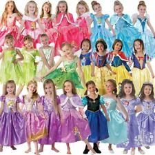 Disney Princesas Disfraz Para Niños Carnaval Princesa 86 - 128 Niñas