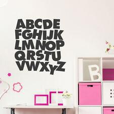 Wandtattoo Das ABC, Buchstaben, Wandaufkleber, Wandsticker, Wanddekoration