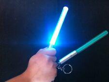 Starwars Tasca Star Wars Luce Spada Laser Blu Rossa Torcia Portachiavi