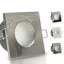 LED Einbaustrahler 230V Feuchtraum 3W 5W GU10 290 /420 Lumen AQB-IP65 Bad aussen