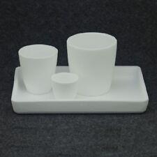 99,7% Professionelle Aluminiumoxid Quarz keramik tiegel zum schmelzen Gold Etc.
